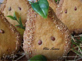 Грушевое печенье