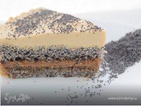 Маково-карамельный торт