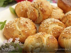 Турецкие сырные булочки с кунжутом