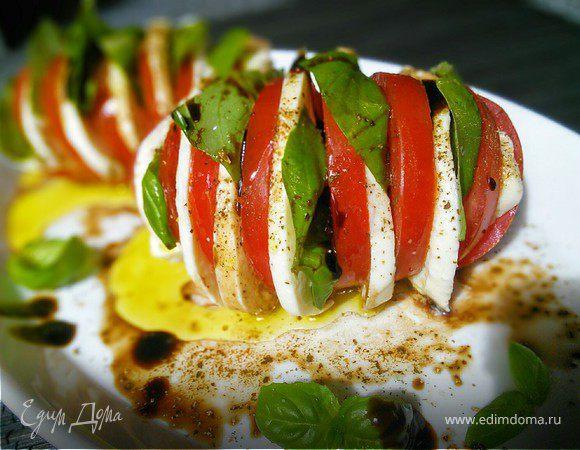 Фаршированные помидоры в итальянском стиле