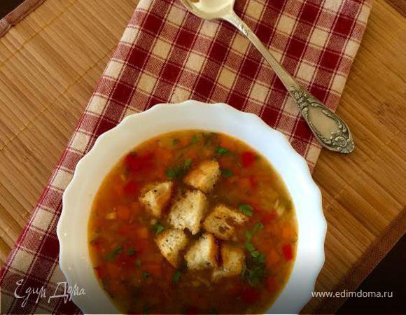 суп гороховый постный рецепт простой рецепт