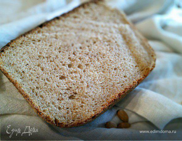 Картофельный хлеб на миндальной муке