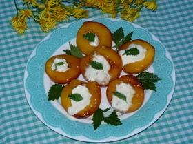 Персики-гриль
