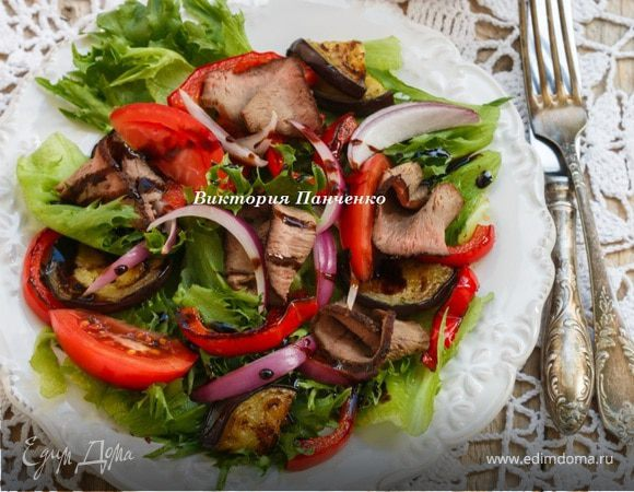 салат славянский рецепт с говядиной и овощами