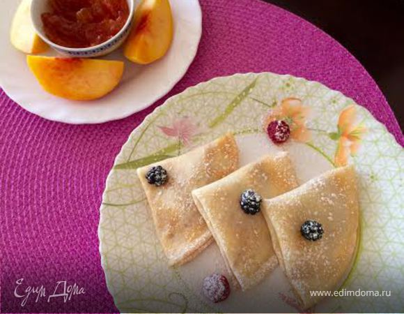 Crepes With Jam (Блины)