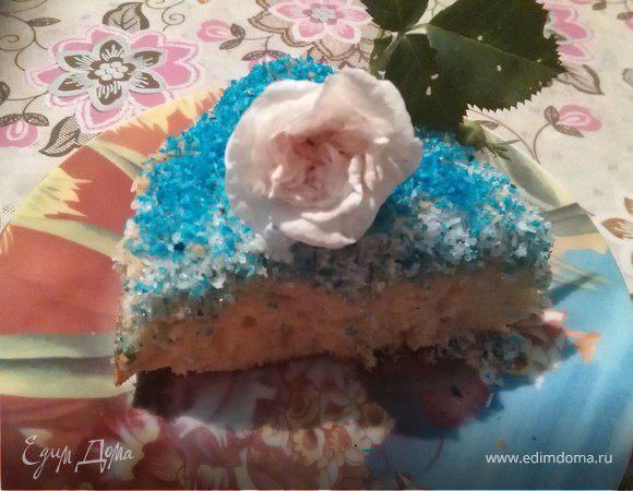 Кокосовый пирог нежный