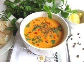Турецкий суп из красной чечевицы