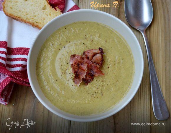Крем-суп из брокколи и сыра