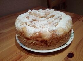 Пирог с творогом и ромовым изюмом