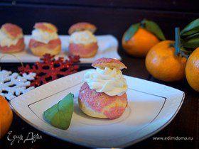 Пирожные «Шу» с вишневым сюрпризом