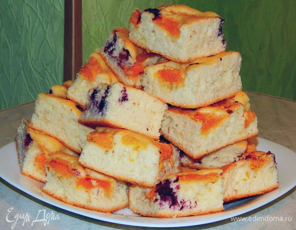 Пирог на минералке рецепт с пошаговый