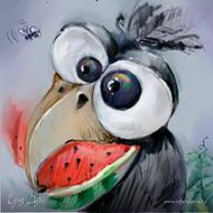 Лохматая Ворона