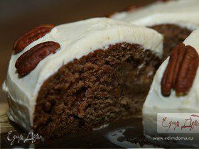 Сладкий пирог с финиками