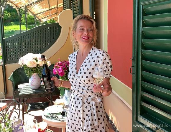 Рецепт клубники со сливками, сыром и печеньем от Юлии Высоцкой | #сладкоесолёное №39