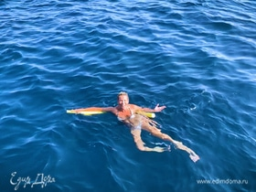 Кругом вода! Питьевой режим и аквааэробика от Юлии Высоцкой | Мне это нравится! #48