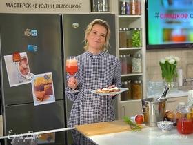 Сырники на рисовой муке с вишневым джемом от Юлии Высоцкой | #сладкоесолёное №116