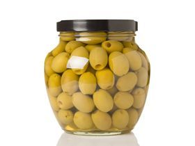 Оливки зеленые консервированные