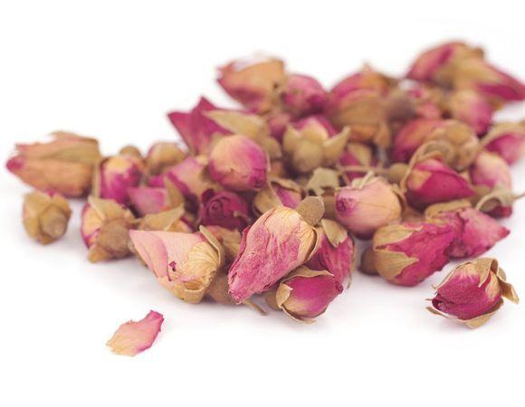 Розовые бутоны сушеные