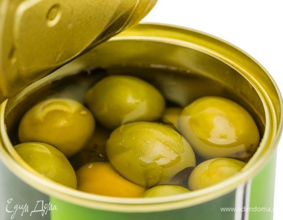 Оливки консервированные