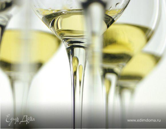 Вино белое сухое
