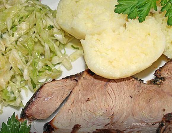 Свинное жаркое по баварски (классика)