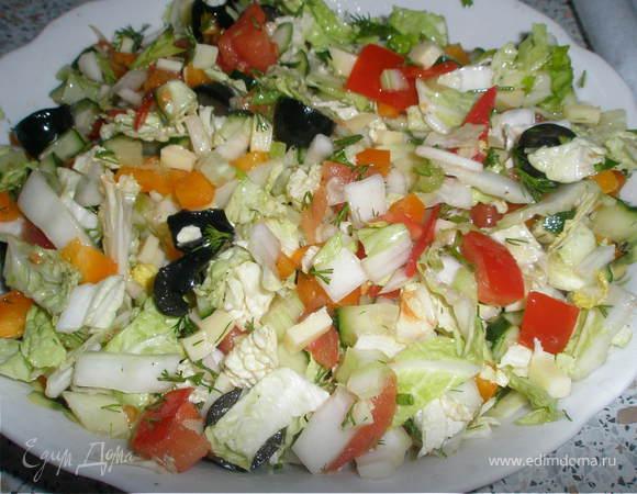 Салат витаминный 120