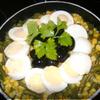 Тёплый салат с грибами по-немецки