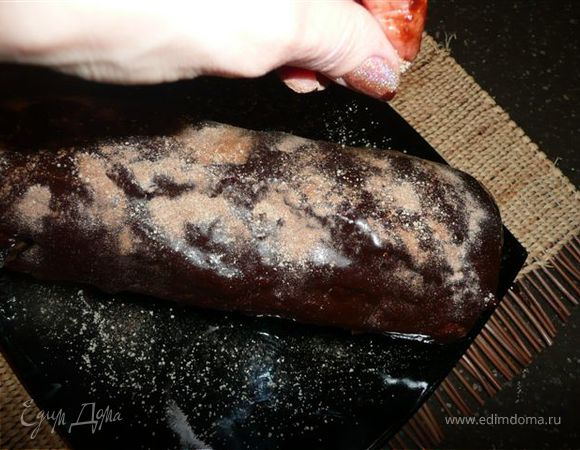 Шоколадно-мраморный кекс