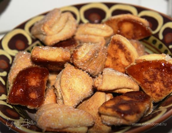 Печенье творожное Лидии Сергеевны (рецепт бабушки)