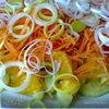 Сицилийский салат из огурцов