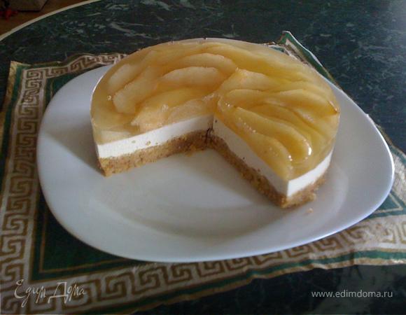 """Торт """"Грушево-миндальный"""""""