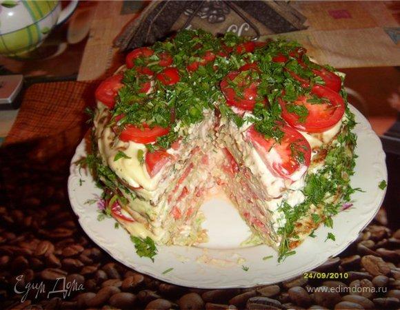 """Торт кабачковый """"Стандарт"""""""