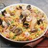Рис с морепродуктами и овощами