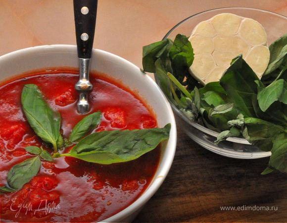 Домашние соус и тесто для Пиццы (Salsa e pasta per la pizza fatta in casa)