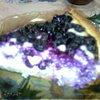 Творожный пирог с голубикой