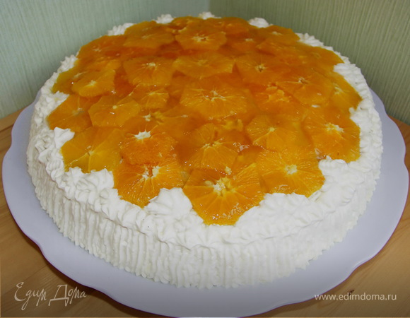 """Торт """"Апельсиновый"""""""