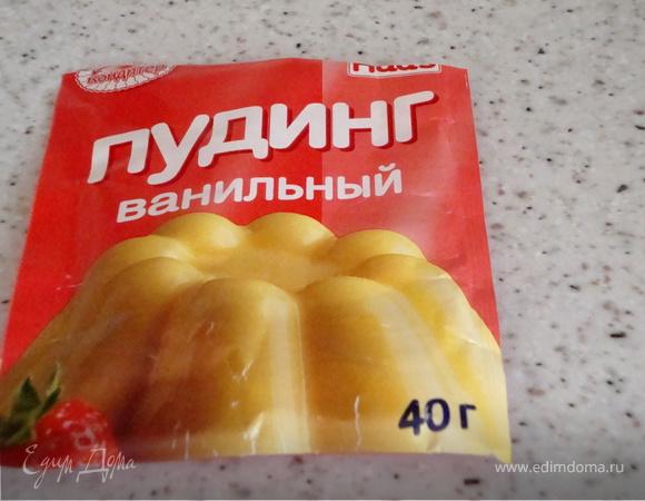 Кекс с бананами и изюмом