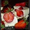 Десерт клубнично-сметанный