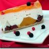 Творожно-фруктовый торт-десерт