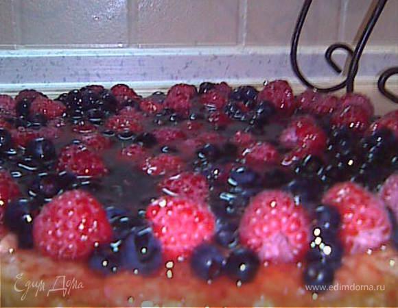 Манник с ягодами