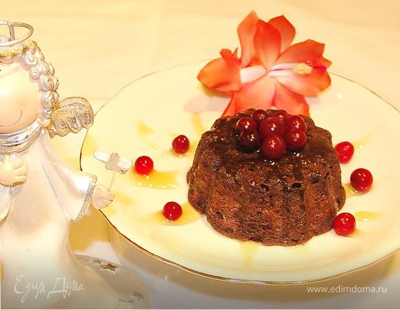 Ангельское пирожное-пудинг;))