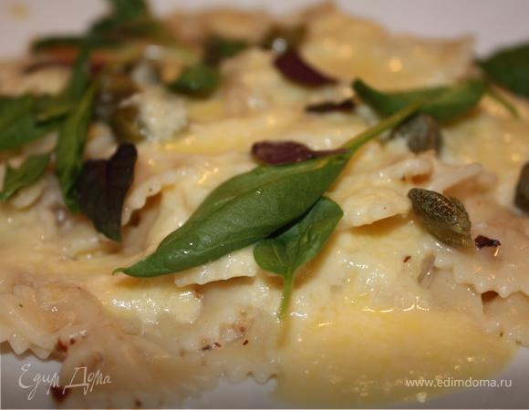 Паста в сырном соусе