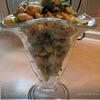 Теплый фасолевый салат с грибами и орехами...