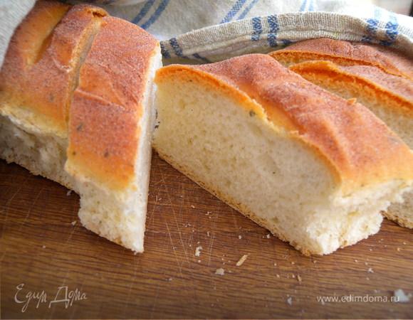 Хлеб с мятой и корицей (100% поста) Вариант.