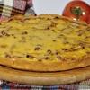 Пирог с беконом и луком