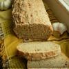 Хлеб ржано-пшеничный с томатом и чесноком