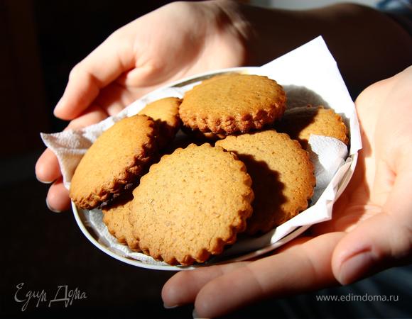 Классические пряные печенья