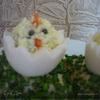 """Фаршированные яйца """"Цыплята"""""""
