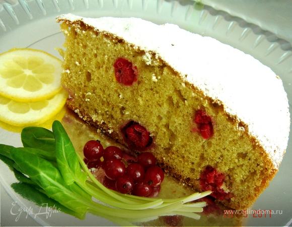 Лигурийский ягодный пирог
