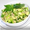 Зелёный салат с мелисой.